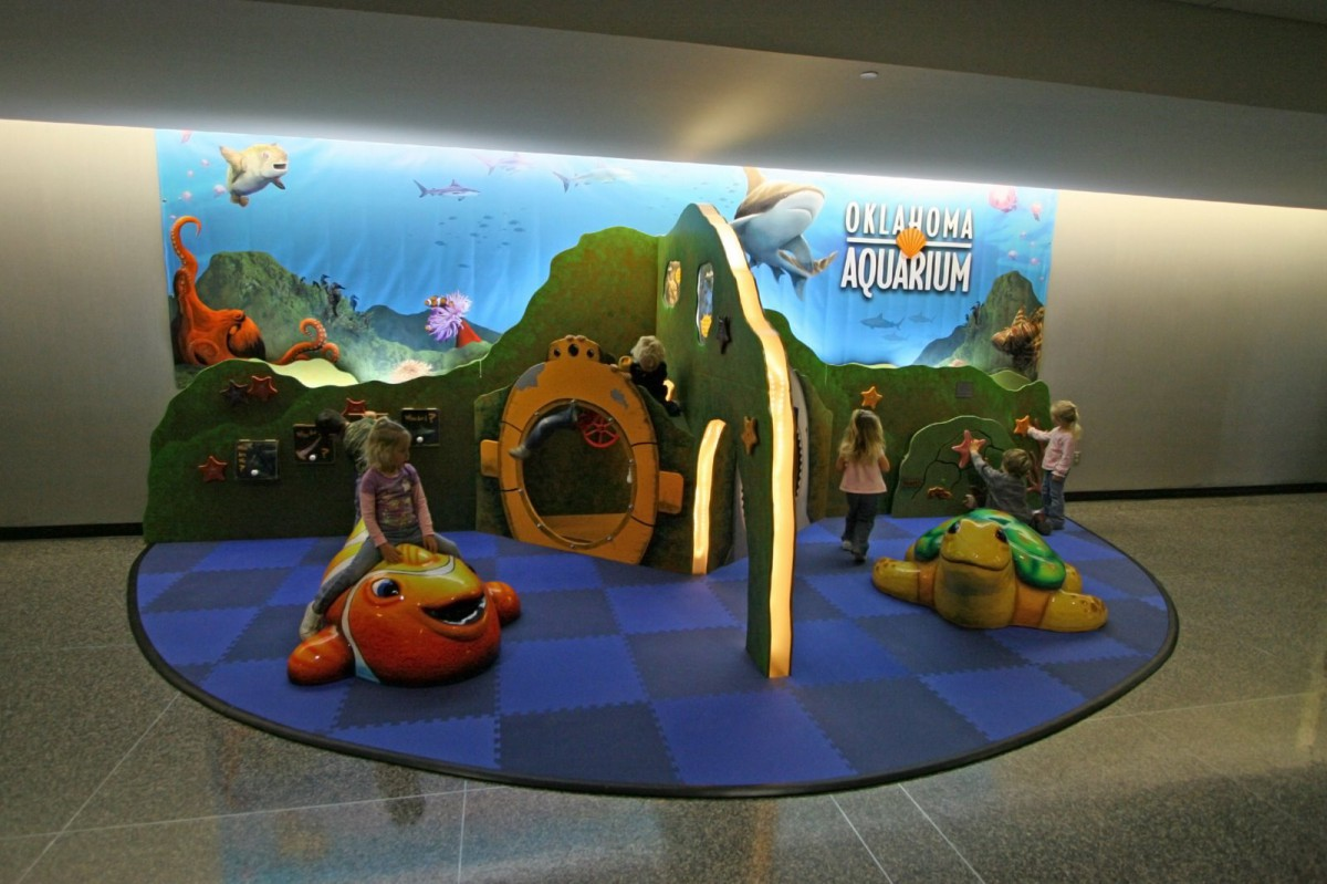 Airport Play Area - Kids Playing