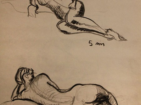 Figure Drawing - 10 Minute Pose