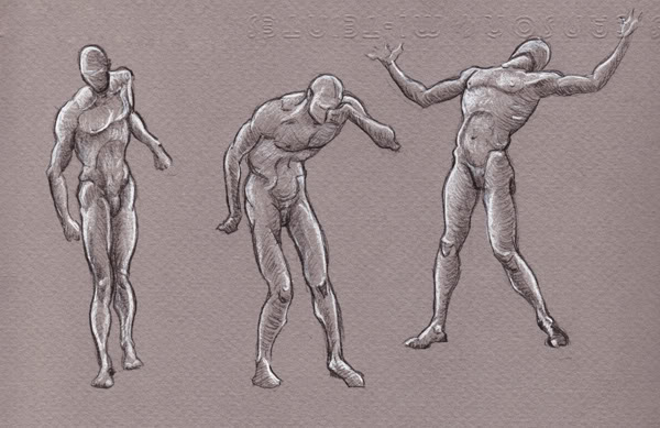 Andrew Loomis Figure Sketches | Greg Tatum