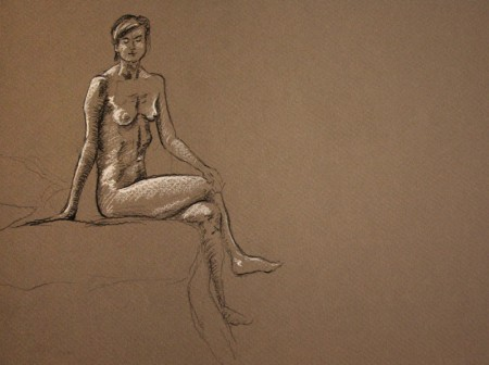 Figure Drawing - Seated Pose