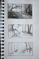 Axe in Forest - Thumbnails