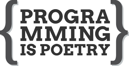Programming is Poetry